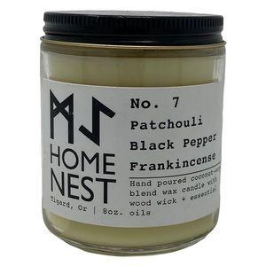 No. 7 Patchouli Black Pepper Frankincense Candle